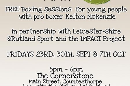 Free Boxing Sessions for young people