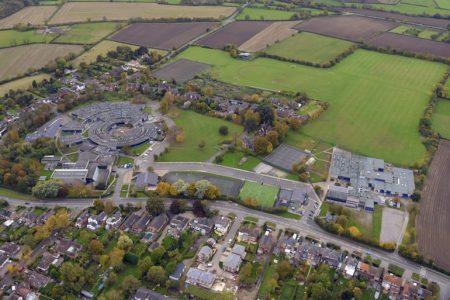 Widening of the pathway between the two school