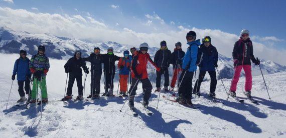 Ski trip home!
