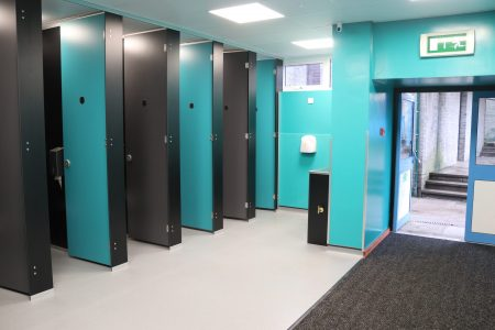 Geography Toilets – Upgrade Complete