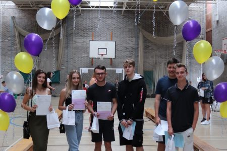 A Level Results Success