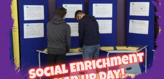 Social Enrichment Sign Up Day!