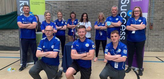 Countesthorpe Academy Staff – FA Cup Winners