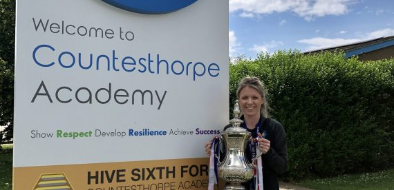 FA Cup Comes to Countesthorpe Academy